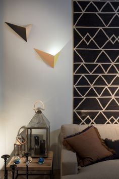 Appliques FLECHES design Hervé Langlais #drugeotlabo #design #luminaire…