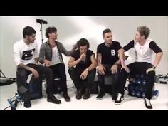 One Direction Funny Moments and interview- September 2013