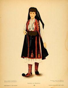Macedonian Traditional Art, Traditional Outfits, Folk Costume, Costumes, The Shining, Macedonia, San Jose, Anthropology, Aurora Sleeping Beauty