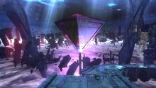 Gates of Hell Image from 'Bayonetta 2'  Sourced 18/01/17  http://bayonetta.wikia.com/wiki/Ruins_of_Lost_Memory?file=Sealed_gates.png