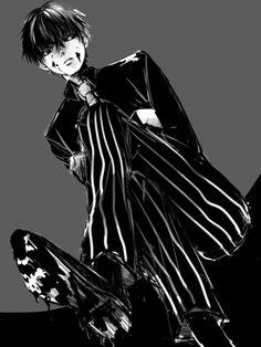 死ねよ・・・ な黒カネキ君最高にかっこよくて動悸が治まりません