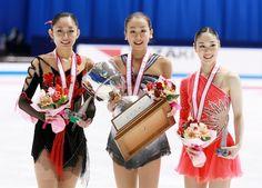 【画像】浅田真央、安藤美姫、中野友加里/全日本選手権2007