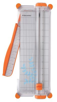 Fiskars SureCut Scrapbooking Paper Trimmer, I love my trimmer! Fiskars has wonderful customer service. When I had a problem with my trimmer they replaced the part, no questions asked! Large Scrapbook, Scrapbook Paper, Fiskars Paper Cutter, Paper Trimmer, Basic Tools, Paper Beads, Paper Quilling, Paper Cutting, Cardmaking