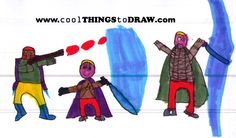 Cool things to draw that grow your child's imagination!