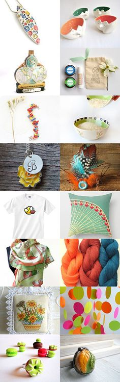 Fresh Summer by Milenkova on Etsy--Pinned with TreasuryPin.com