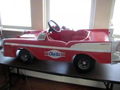 Cheetos Pedal Car - had one of these when I was kid