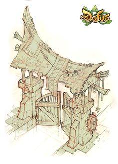 Dofus Incarnam sketch by ~Catell-Ruz on deviantART