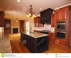 kitchen with fireplace - Google Search