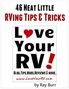 46 Neat Little RVing Tips & Tricks