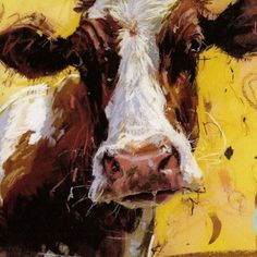 Any occassion greetings card by James Bartholomew's Fresian Cow - £1.80