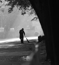 """If a man is called to be a street sweeper, he should sweep streets even as a Michelangelo painted, or Beethoven composed music or Shakespeare wrote poetry. He should sweep streets so well that all the hosts of heaven and earth will pause to say,'Here lived a great street sweeper who did his job well.-- Martin Luther King Jr."