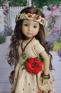 "OOAK Outfit for Dolls Little Darlings Effner 13"""