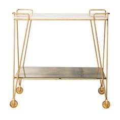 Buy the Gold Luxe Drinks Trolley at Oliver Bonas. We deliver Homeware throughout the UK within 5-12 working days from £35.