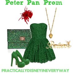 Peter Pan Prom, created by prettybritty3820 on Polyvore