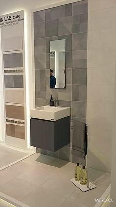 Novedad en #Cersaie la colección In Lab de #Metropol  #tiles #cerámica #fliesen #bain #baño #bathroom #bath #restroom #design