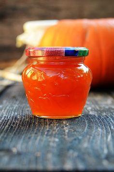 Apetyczna babeczka: Dżem z dyni i pomarańczy