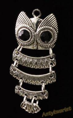 X724 ELEMENT BALI ZAWIESZKA SOWA 50mm 1szt Bali, Jewelry, Fashion, Moda, Jewlery, Jewerly, Fashion Styles, Schmuck, Jewels