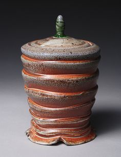 This website is an EXCELLENT resource for contemporary ceramic. It can categorize searches very well.   Lidded Jar by richard.burkett, via Flickr