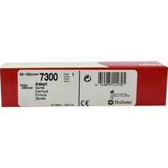 ADAPT Gürtel latexfrei mittel 59-109 cm:   Packungsinhalt: 1 St PZN: 09297869 Hersteller: Hollister Incorporated Preis: 8,83 EUR inkl. 19…
