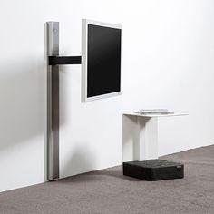 Wissmann Raumobjekte Solution Art 128 / TV Wandhalter bei hifi-tv-moebel.de