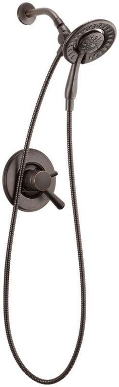 Delta T17293-I Linden Monitor 17 Series Dual Function Pressure Balanced Shower T Venetian Bronze Faucet Shower Only Single Handle
