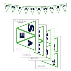 Just what I'm looking for - Seahawks Superbowl Football Night Printable Banner Seahawks Super Bowl, Seahawks Fans, Seahawks Football, Seattle Seahawks, Broncos, Football Crafts, Football Parties, Football Food, Printable Banner