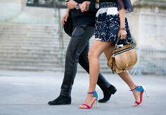 aimee_song_chloe_lace_skirt_oscar_tiye_wing_heels_chloe_python_bag