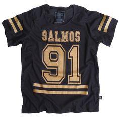 Camisa Salmos 91 - Masculino Tam. M                                                                                                                                                                                 Mais