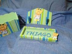Ajuar Para Bebes- Pañaleras Carteles Con Nombre, - $ 900,00