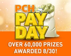 Sweepstakes - Enter The PCH Pay Day Sweepstakes! sweepstakes sweepstakes 2019 winner home Instant Win Sweepstakes, Online Sweepstakes, Wedding Sweepstakes, Travel Sweepstakes, Win For Life, Winner Announcement, Lottery Winner, Off Game, Publisher Clearing House