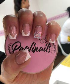 Nail Manicure, Gel Nails, Stiletto Nail Art, Nagel Gel, Super Nails, Best Acrylic Nails, French Nails, Winter Nails, Short Nails