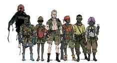 Browse a selection of 50 concept art made for The Art Of Metal Gear Solid V, The Phantom Pain.f Metal Gear Solid V is the ninth and final installment in White Mamba, Metal Gear Solid Series, Metal Gear Rising, Kojima Productions, Diamond Dogs, Video Game Art, Video Games, Ghost In The Shell, Visual Development