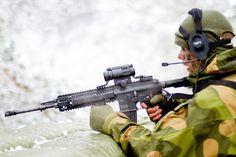 Norwegian Soldier with HK 416N (1280×854) - #norwegian #norway