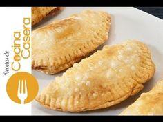 Empanadillas de queso - Recetas de Cocina Casera - Recetas fáciles y sencillas