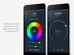 Smart Home app by Lorenzo Perniciaro