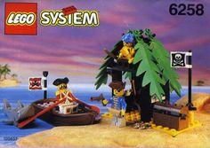Lego Pirates: 6258 Smuggler's Shanty (1992)