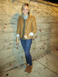 sequins, chambray, and leather