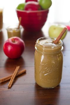 Naked Apple Butter Used 3lb McIntosh apples and 1 tbs vanilla.  Took about 2-3 hours to cook down, on high.   Pureed in Vitamix and put back in crock with 1/2 tsp ground cloves, 1.5tsp cinnamon, and 4 tsp dark brown sugar. Free shipping on #Vitamix purchase with code 06-006499 at Vitamix.com