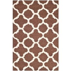 Cambridge Dark Brown/Ivory 2 ft. 6 in. x 4 ft. Area Rug