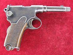 """Венгерский пистолет """"Фроммер"""" М1910. Производство около 3.000 штук. Калибр 7.65мм."""
