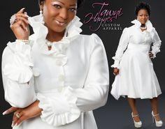 Tawni Haynes - Bubble Dress and Lap Scarf by Tawni Haynes Custom Apparel, via Flickr