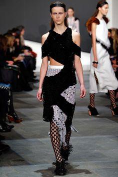 Proenza Schouler Fall 2015 Ready-to-Wear Fashion Show - Julie Hoomans