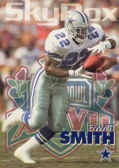EMMITT SMITH - 1993 SKYBOX #74 - MINT - COWBOYS - FREE S/H