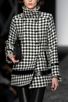 classic houndstooth+black.