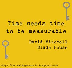 Quote from the novel Slade House by David Mitchell Slade House, David Mitchell, Playlists, Book Reviews, Book Quotes, Novels, Books, Livros, Book