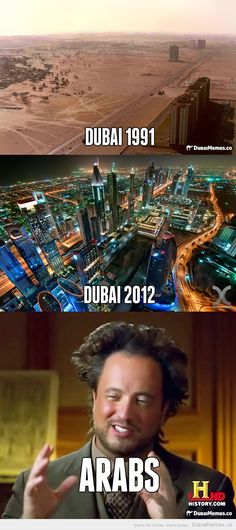 Dubai Before and After! Dubai's Changing Skyline.