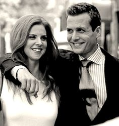 sarah rafferty and Gabriel Macht
