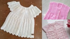 Modern Baby Vest Models – Knitting And We Baby Vest, Knit Vest, Mom And Baby, Disney Toys, Summer Dresses, Knitting, Lace, Clothes, Tops