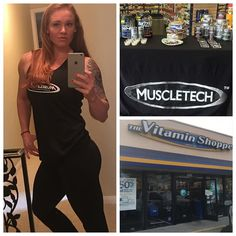 I'm in Huntington Beach Y'all!! Come stop by lets sip on protein and talk about Gainz! I'll be here until 2pm and there is nothing better than a BOGO sale on your favorite products! Demo Today Only  Location: Vitamin Shoppe  Address: 7672 Edinger Ave Huntington Beach CA  92647 Time: 11am to 2pm  Buy 1 Get 1 Half Off all MuscleTech products! Anyone that sees me today gets a FREE shaker cup!! And we all need more shaker cups in our lives!!  #SavageBeauty  #GetYourGoalOn #VitaminShoppe…