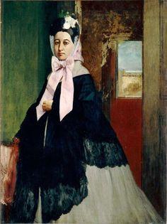 Thérèse Degas  Edgar DEGAS